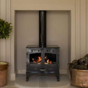 Carron 11kw Cast Iron Multi-Fuel Stove