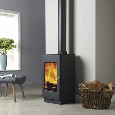 Burley Carlby 9307-C 7kW Wood Burning Stove