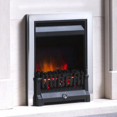 Burley Stoves The Foxton with Finger Fret Electric Stove