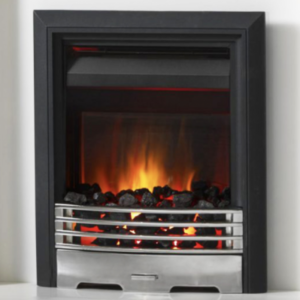 Burley Stoves The Langton Chrome/Black