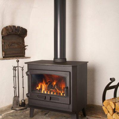 Dean Stoves Croft Clearburn Medium 11kw Multi-fuel stove