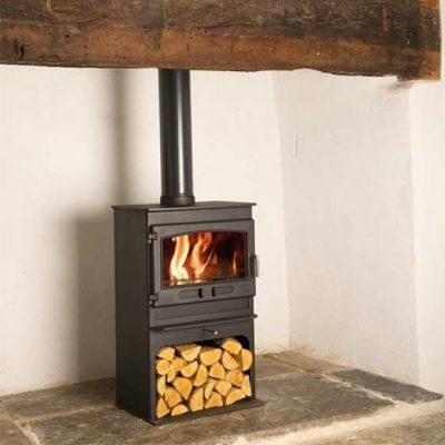 Dean Stoves Croft Small Se 8kW with Logstore