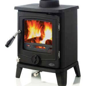 Henley Cambridge - Matte Black 5kW Stove