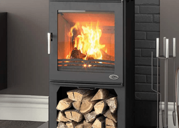 Henley Dalewood 5kW Stove with Log Box