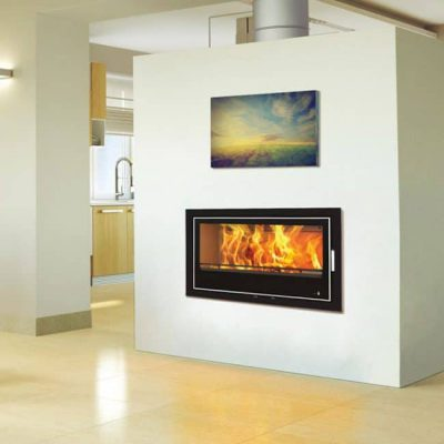 Henley Lisbon 900 14kW Wood Burning Cassette