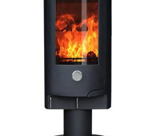 Oak Stoves - Zeta 10 Pedestal - Multi-Fuel Stove