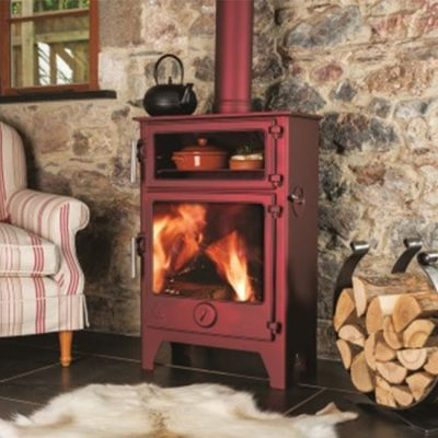 Dean Stoves Dartmoor Baker 8 Wood Burning or Multi-fuel Stove