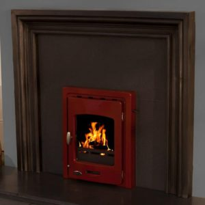 Carron Darwin Inset 4.7kw Cast Iron Multi-Fuel Stove